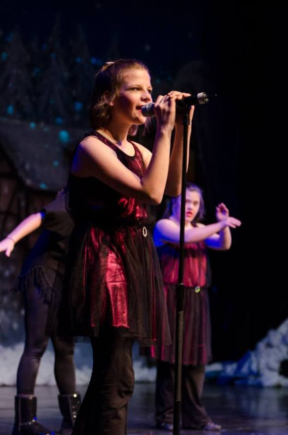Cami performing at our 2013 holiday showcase.