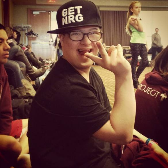 Nathan at NRG Dance Convention in Atlanta