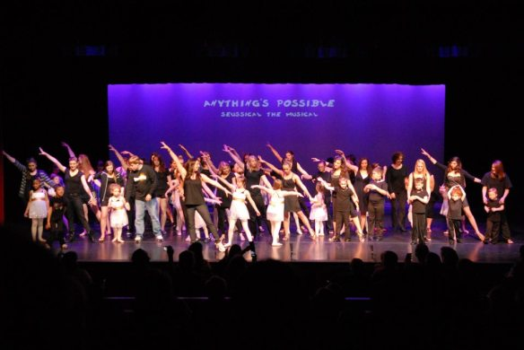 Our students at the 2010 Dream Big! spring recital.