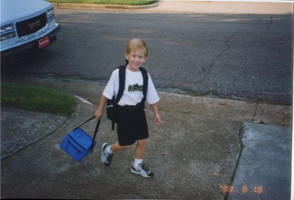 Austin's first day of first grade