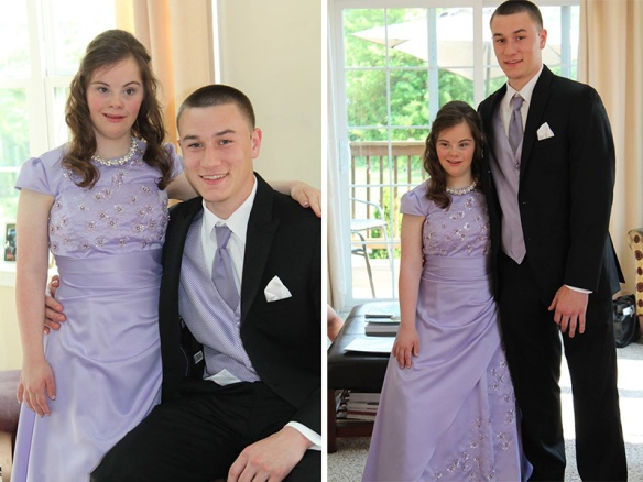 down syndrome prom date