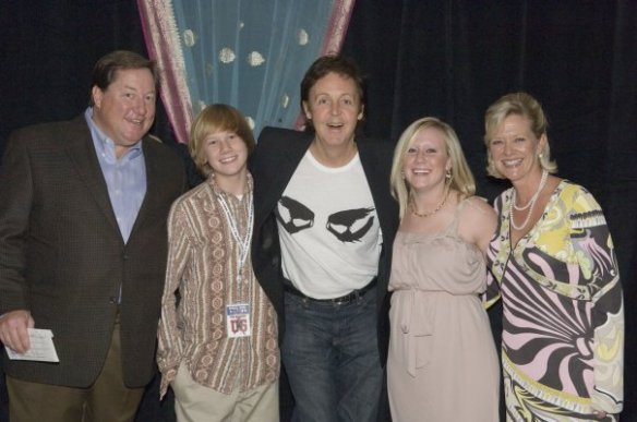 Meeting Sir Paul McCartney...definitely a high point